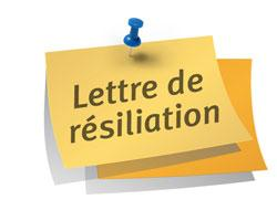 Modèle de lettre de résiliation de bail avec un mois de préavis