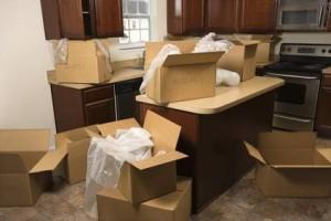 Le déménagement d'un colocataire